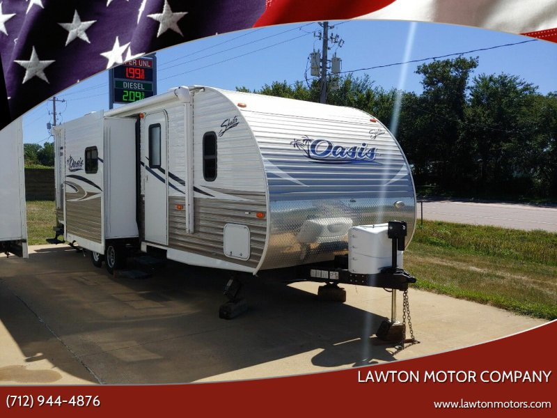 2016 SHASTA OASIS for sale at Lawton Motor Company in Lawton IA