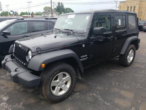 2016 Jeep Wrangler Unlimited for sale in Batavia, NY