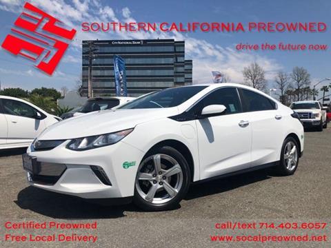 2017 Chevrolet Volt for sale in Anaheim, CA