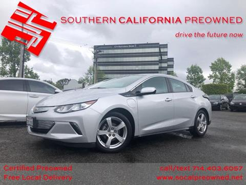2017 Chevrolet Volt for sale in Anaheim, CA