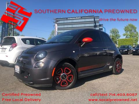 2016 FIAT 500e for sale in Anaheim, CA