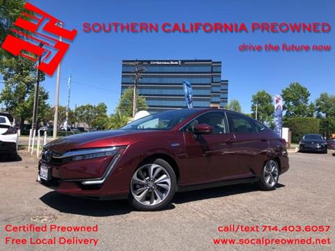 2018 Honda Clarity Plug-In Hybrid for sale in Anaheim, CA