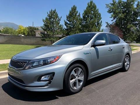 2015 Kia Optima Hybrid for sale in Bountiful, UT