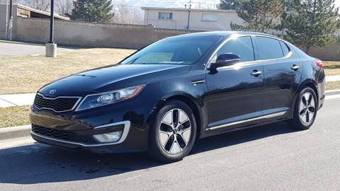 2012 Kia Optima Hybrid for sale in Bountiful, UT