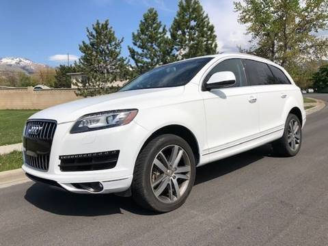 Used Audi Q7 For Sale In Utah Carsforsale Com