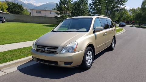 2010 Kia Sedona for sale at A.I. Monroe Auto Sales in Bountiful UT