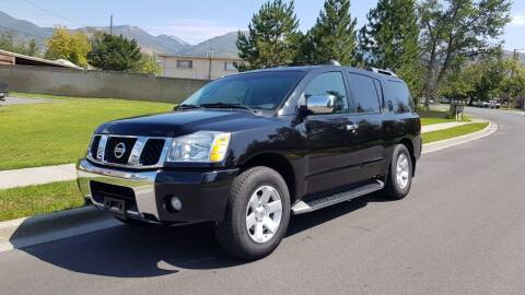 2004 Nissan Armada for sale at A.I. Monroe Auto Sales in Bountiful UT