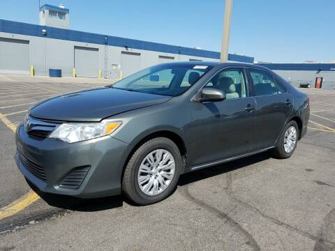 2012 Toyota Camry for sale at A.I. Monroe Auto Sales in Bountiful UT