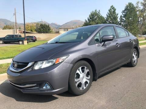 2014 Honda Civic for sale at A.I. Monroe Auto Sales in Bountiful UT