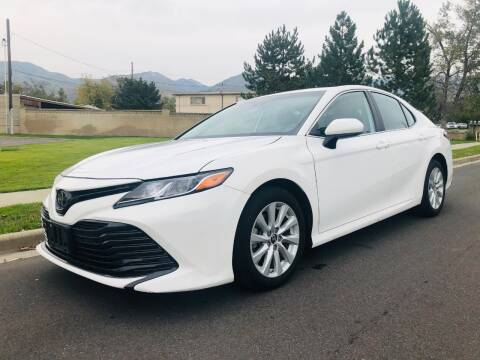 2019 Toyota Camry for sale at A.I. Monroe Auto Sales in Bountiful UT
