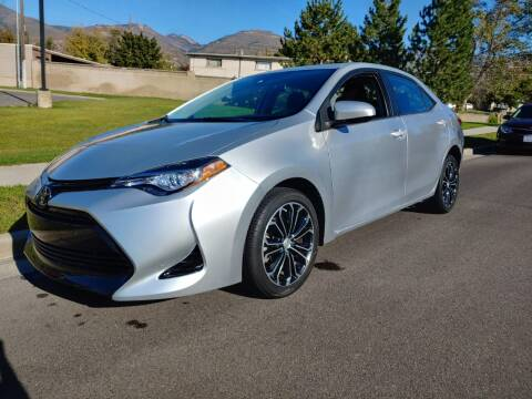 2017 Toyota Corolla for sale at A.I. Monroe Auto Sales in Bountiful UT
