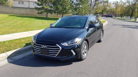 2017 Hyundai Elantra for sale at A.I. Monroe Auto Sales in Bountiful UT