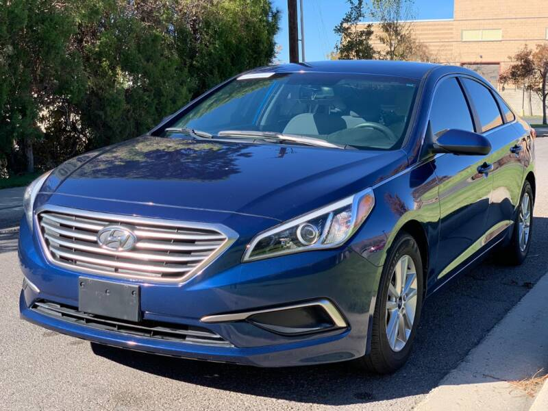 2017 Hyundai Sonata for sale at A.I. Monroe Auto Sales in Bountiful UT