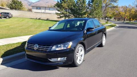 2013 Volkswagen Passat for sale at A.I. Monroe Auto Sales in Bountiful UT