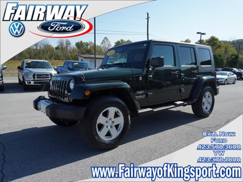 2010 Jeep Wrangler Unlimited for sale in Kingsport, TN
