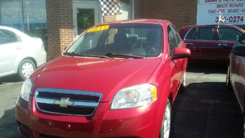 2011 Chevrolet Aveo for sale at Sann's Auto Sales in Baltimore MD