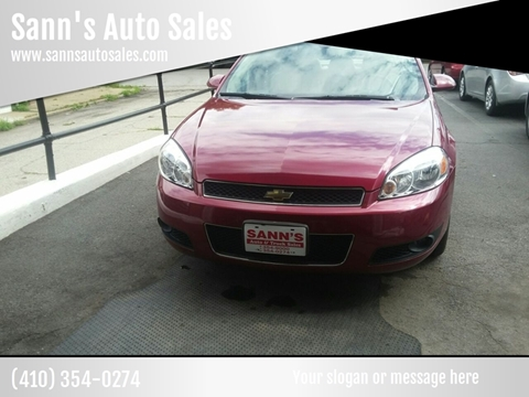 2006 Chevrolet Impala for sale in Baltimore, MD