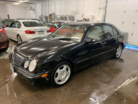 2002 Mercedes-Benz E-Class for sale at The Car Buying Center in St Louis Park MN