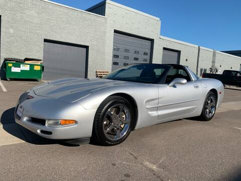 2002 Chevrolet Corvette for sale at The Car Buying Center in St Louis Park MN