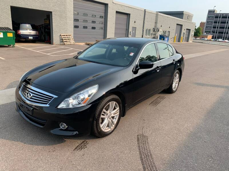 2013 Infiniti G37 Sedan for sale at The Car Buying Center in St Louis Park MN