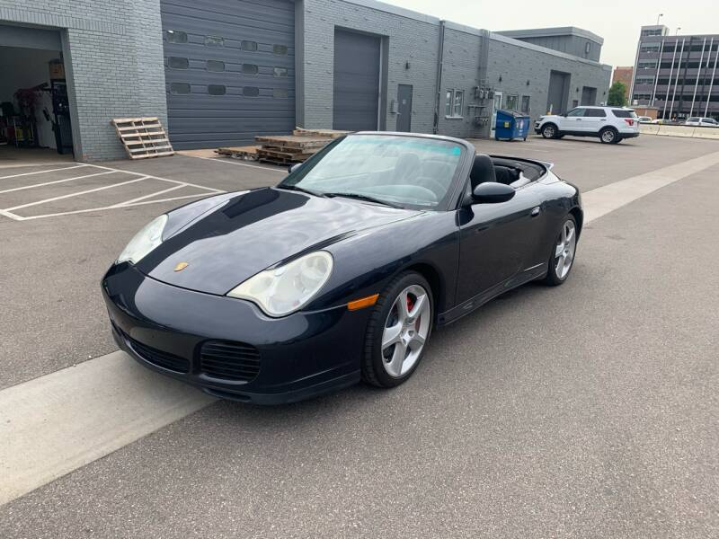 2005 Porsche 911 for sale at The Car Buying Center in St Louis Park MN