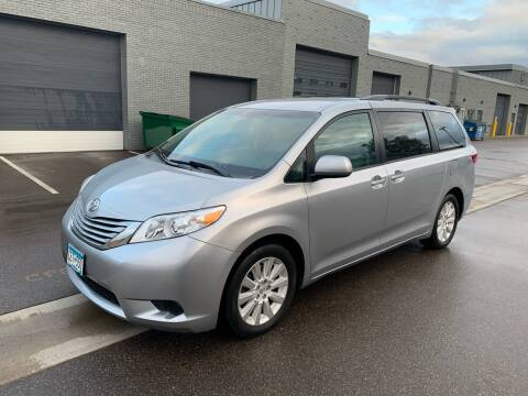 2015 Toyota Sienna for sale at The Car Buying Center in St Louis Park MN