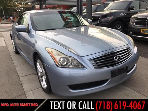 2010 Infiniti G37 Convertible for sale in Brooklyn, NY