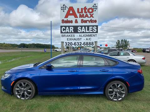 2015 Chrysler 200 S for sale at Auto Max Sales & Service in Little Falls MN