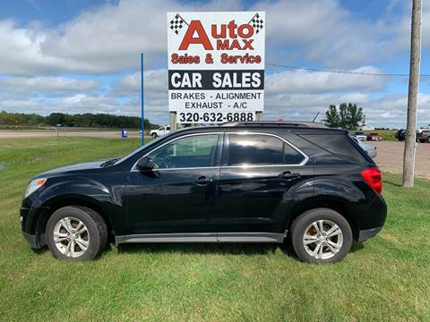 2013 Chevrolet Equinox LT for sale at Auto Max Sales & Service in Little Falls MN
