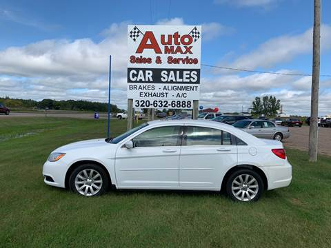 2012 Chrysler 200 Touring for sale at Auto Max Sales & Service in Little Falls MN