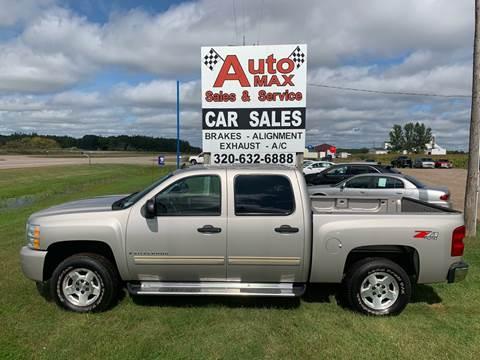 2009 Chevrolet Silverado 1500 LT for sale at Auto Max Sales & Service in Little Falls MN