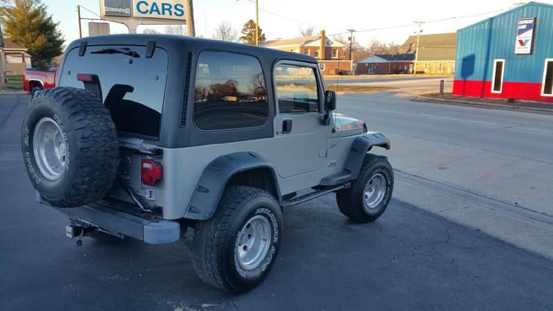 2002 Jeep Wrangler For Sale At Schemppu0027s Auto Sales In Centralia IL