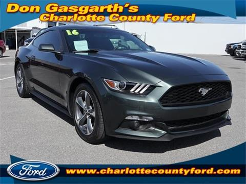 2016 Ford Mustang For Sale In Port Charlotte, FL