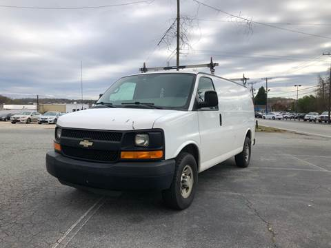 2011 Chevrolet Express Cargo for sale at Triple A's Motors in Greensboro NC