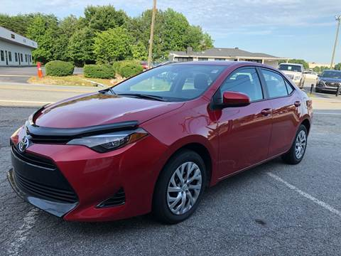 2018 Toyota Corolla for sale in Greensboro, NC
