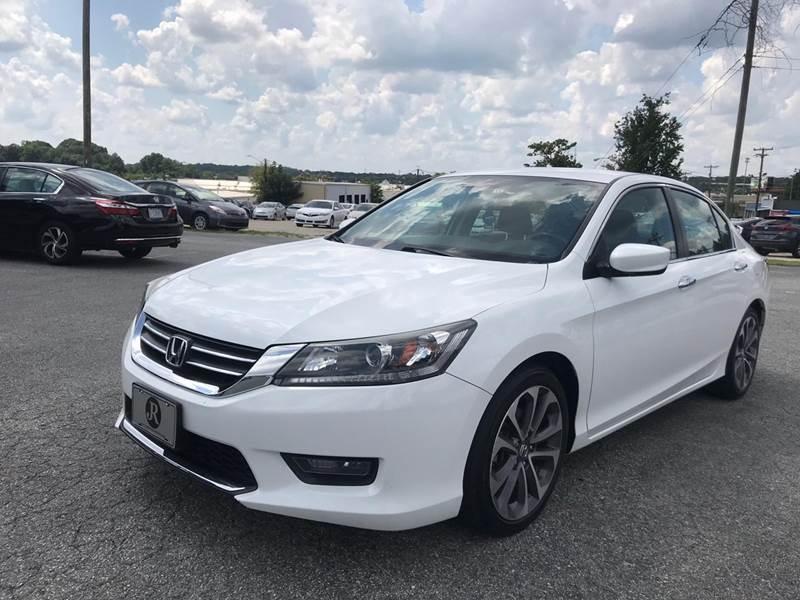 2015 Honda Accord for sale at Triple A's Motors in Greensboro NC