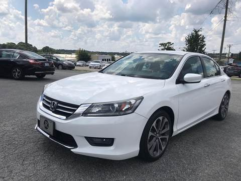 2015 Honda Accord for sale at Triple A's Motors in Greensboro NC