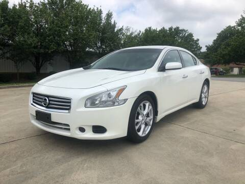 2013 Nissan Maxima for sale at Triple A's Motors in Greensboro NC
