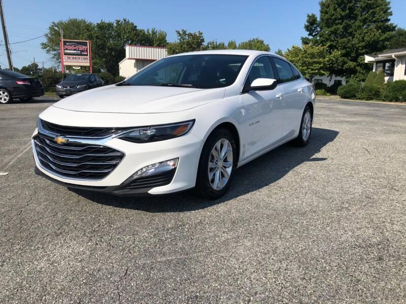 2020 Chevrolet Malibu for sale at Triple A's Motors in Greensboro NC