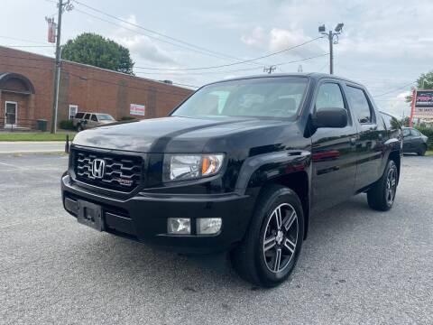 2012 Honda Ridgeline for sale at Triple A's Motors in Greensboro NC