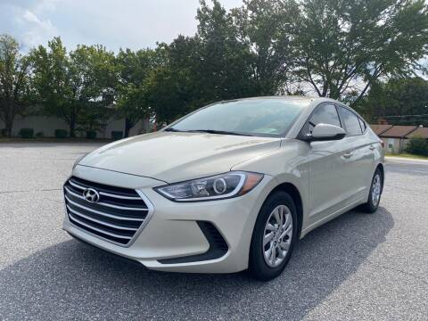 2018 Hyundai Elantra for sale at Triple A's Motors in Greensboro NC