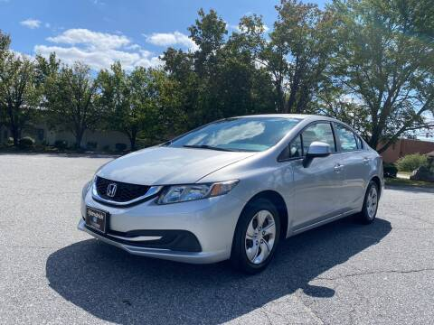 2013 Honda Civic for sale at Triple A's Motors in Greensboro NC