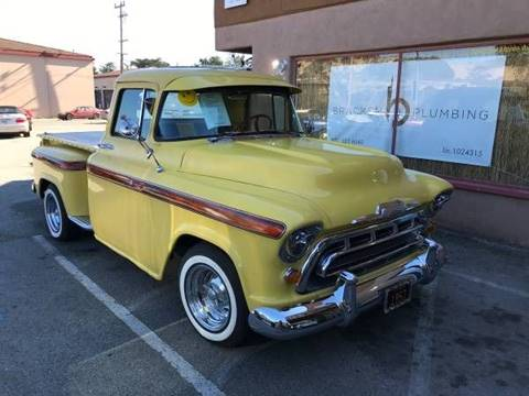 1957 Chevrolet Apache for sale at Dodi Auto Sales in Monterey CA
