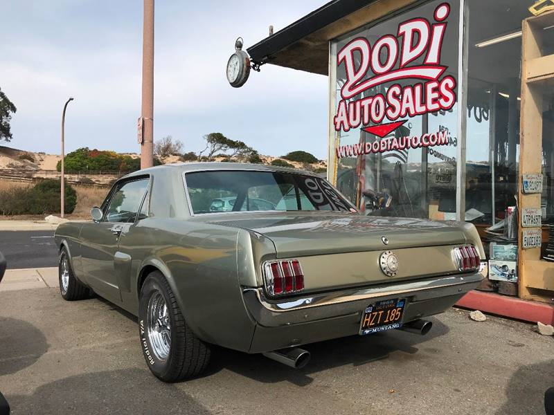 1965 Ford Mustang for sale at Dodi Auto Sales in Monterey CA