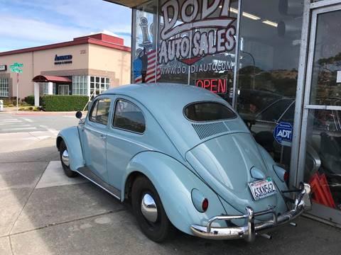 1957 Volkswagen Beetle for sale at Dodi Auto Sales in Monterey CA