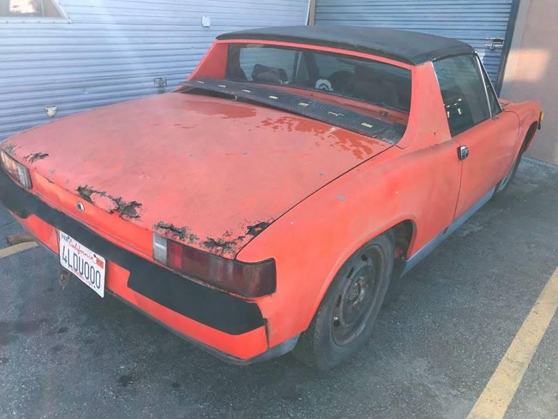 1972 Porsche 914 for sale at Dodi Auto Sales in Monterey CA