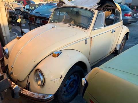 1969 Volkswagen Beetle for sale at Dodi Auto Sales in Monterey CA
