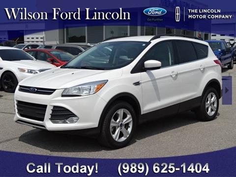2016 Ford Escape for sale in Saginaw, MI