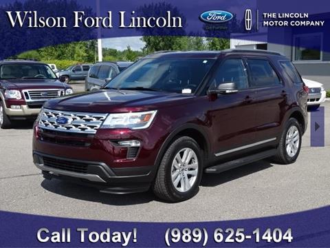 2019 Ford Explorer for sale in Saginaw, MI
