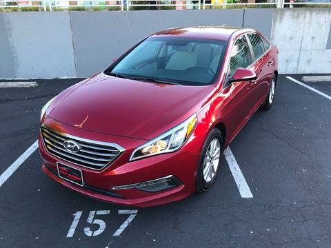 2015 Hyundai Sonata for sale at Top Speed Auto Sales in Fremont CA